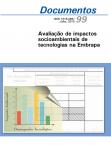 Avaliação de impactos socioambientais de tecnologias na Embrapa