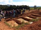 Foto do Cemitério de Brumadinho - que precisou abrir 60 novas covas para o enterro de vítimas de Barragem do Córrego do Feijão, da Vale, em Brumadinho (MG) / Foto do Jornalista Paulo Cabral