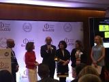 Representantes da Universidade Corporativa do Banco do Brasil recebem Premiação do Fórum Global CCU. Foto de Sônia Araripe/ Plurale.