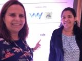 Conferência Ethos 360º no Rio de Janeiro - 2019 / Sônia Araripe , Editora de Plurale , e Giane Gatti, Colunista
