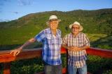 Os produtores Luiz Paulo Pereira e Hélcio Carneiro - em Carmo de Minas (MG). Foto de Luciana Tancredo/ Plurale - TODOS OS DIREITOS RESERVADOS- PROIBIDA A REPRODUÇÃO.