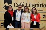 Encontro de escritores - Andréa Pachá, Fábio Barbirato, Gabriela Dias e Susana Naspolini na Bienal de Livros do Rio 2019 - FOTO DE RAFAELA CASSIANO - PLURALE