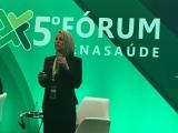 Vera Valente, diretora-geral da FenaSaúde, deu detalhes da agenda