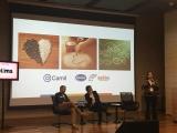 Christina Larroudé, da Camil Alimentos,  palestrou na abertura do evento no Rio. Foto de Plurale.