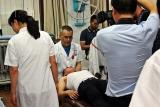 Atendimento médico em  Shaanxi- – Foto de Hélio Rocha / Plurale na CHINA