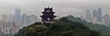 Panorânica que mostra a poluição na Cidade de Wuhan, capital da província de Hubei - Foto de Hélio Rocha - Plurale na China