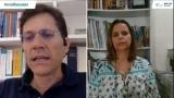 Jornalista Sônia Araripe, de Plurale, fez pergunta na webinar #EnelFocusOn para Mr. Antonio Cammisecra, CEO da Enel Green Power, sobre recuperação verde e investimentos em energias renováveis da Enel Green Power, especificamente na América do Sul e Brasil.