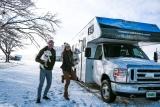 A blogueira PAULA MARTINELLI viajou pelos parques naturais do  Novo México (EUA) em segurança com o marido Mike e cachorrinhos de motor home. (Proibida a reprodução das fotos)