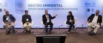 Alternativas para redução de desperdício e consumo consciente de recursos naturais são debatidos em seminário na FIRJAN