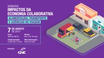 Impactos da Economia Colaborativa é tema de seminário promovido pela CNC