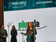 Plurale recebe o Prêmio Aberje 2017 de Mídia na categoria Revista Segmentada