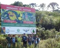 Inauguração da RPPN Papagaios-de-altitude celebra 25 anos de parceria entre instituições de pesquisa e apoio