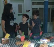 Escola ensina a refletir....e a se alimentar melhor