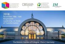 Cologne Business School realiza conferência internacional sobre Liderança Responsável em Tempos de Transformação