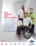 Carrefour realiza campanha de inclusão da pessoa com deficiência