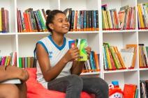 Comunidade de Jardim Gramacho ganha biblioteca comunitária