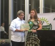 Editora de Plurale, Sônia Araripe, recebe o Prêmio Honra ao Mérito SocioAmbiental Lagoa Viva junto a ecologistas, juristas e projetos socioambientais