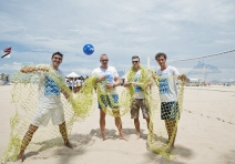 Ghost Net Foundation e Federação Internacional de Vôlei lançam em Copacabana Projeto Good Net