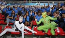 Bateria do Instituto TIM assiste espetáculo do Cirque du Soleil no Rio de Janeiro