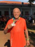 Aos 78 anos, aposentado supera derrame e encontra alegria na corrida