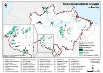 Estudo comprova alto nível de ameaça às Unidades de Conservação na Amazônia brasileira