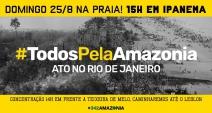 Protestos pela Amazônia estão sendo convocados em todo o mundo