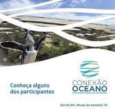 Mateus Solano e Sônia Bridi juntam-se a time escalado para evento sobre oceano