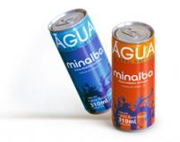 Minalba inova e inicia venda de água mineral natural em lata no Brasil