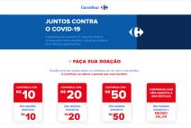 ESPECIAL CORONAVÍRUS - Grupo Carrefour Brasil anuncia doação de R$15 milhões em alimentos para ajudar famílias impactadas pela pandemia