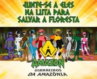 ESPECIAL CORONAVÍRUS -  Episódios da animação Guerreiros da Amazônia é disponibilizado de graça das redes sociais durante quarentena