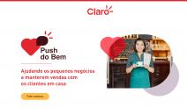 ESPECIAL CORONAVÍRUS - Claro estreia campanha focada na mudança de comportamento dos pequenos e médios empresários