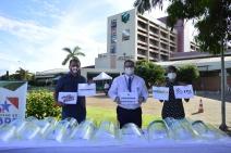 ESPECIAL CORONAVÍRUS -  União Pará doa ao Hospital Regional 400 kits de EPIs e outros materiais de proteção ao coronavírus