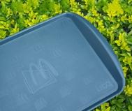 McDonald's substitui bandejas de plástico de seus restaurantes no Brasil por versão mais sustentável