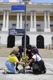 Prefeito Eduardo Paes inaugura placa na Cinelândia em homenagem a Marielle Franco