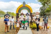 Veracel entrega material de apoio escolar para 5 mil alunos de comunidades indígenas