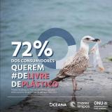 Pesquisa Ipec revela que 72% dos consumidores gostariam de receber os pedidos de delivery de comida pronta sem plástico descartável