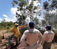 Intercâmbio entre Sesc Pantanal e ICMBio aborda técnicas de uso de fogo como prevenção a incêndios no Pantanal