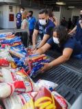 Rio Contra a Fome completa um mês com 45 toneladas arrecadadas