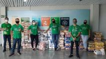 Colaboradores da Neoenergia doam 43 toneladas de alimentos