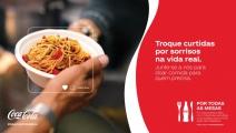 """Coca-Cola lança """"Por Todas as Mesas"""" para apoiar a campanha Brasil Sem Fome"""