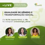 Instituto Neoenergia promove nesta quarta-feira (16/06) a live: Lugar de mulher é onde ela quiser, e reúne lideranças femininas