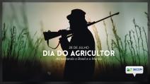 Governo Bolsonaro faz homenagem ao Dia do Agricultor com foto de homem armado no campo