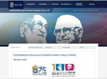 PUC-SP celebra centenários de Dom Paulo Evaristo Arns e de Paulo Freire
