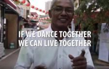 If we can dance together, we can live together (em inglês)