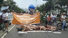 Mobilização pelo clima no Rio de Janeiro