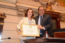 Cerimônia de Entrega do Conjunto de Medalhas Pedro Ernesto para a Jornalista Sônia Araripe, Editora de Plurale/ FOTOS DE LUCIANA TANCREDO