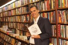 Lançamento do Livro de Paulo Marinho na Livraria Argumento do Leblon/ Rio - em 08/04/2019 - FOTOS DE ENY MIRANDA