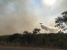 Operação Pantanal II - Bombeiros, brigadistas e voluntários trabalham intensamente para controlar focos de incêndio no Pantanal - FOTOS DE JEFERSON PRADO