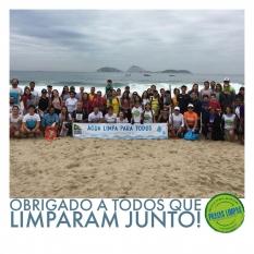 Limpeza da Praia de Ipanema