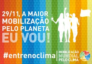Entre no Clima: marcha mundial pelo planeta